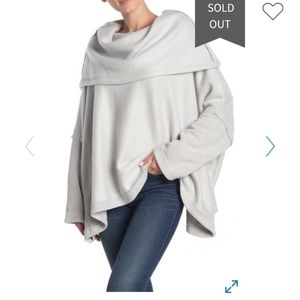 Free people Huntington oversized pullover